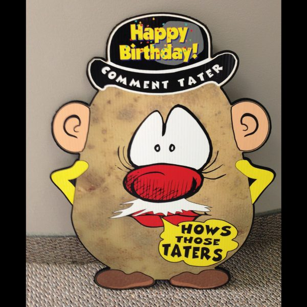 hp2_hot_potatos_yard_greetings_lawn_signs_cards_happy_birthday_hoppy_over_hill