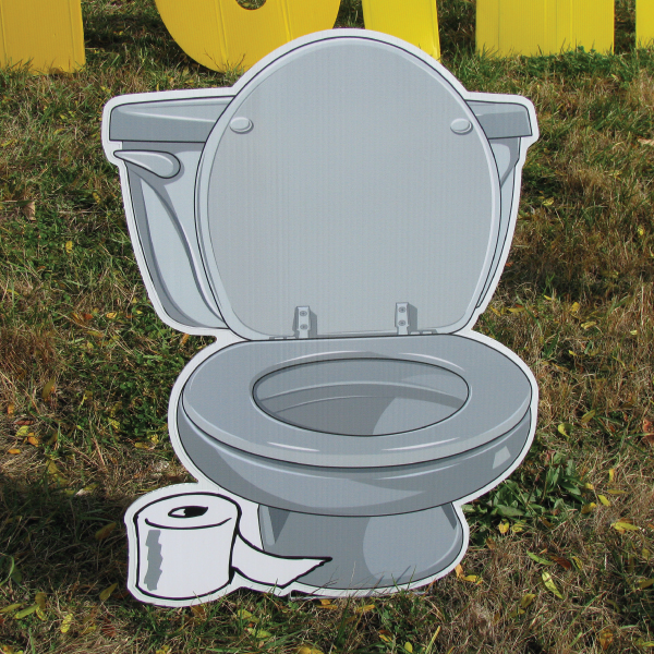 toilet_gray_down_yard_greetings_lawn_signs_cards_happy_birthday_hoppy_over_hill