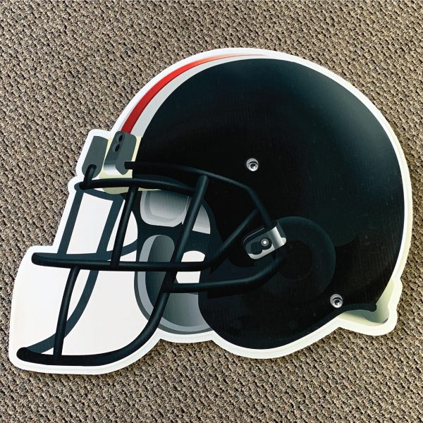 black_helmet_football_yard_greetings_yard_cards_lawn_signs