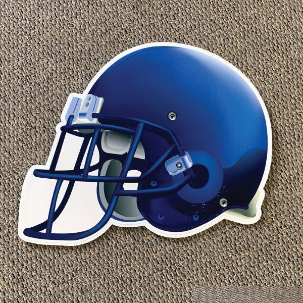 blue_helmet_football_yard_greetings_yard_cards_lawn_signs