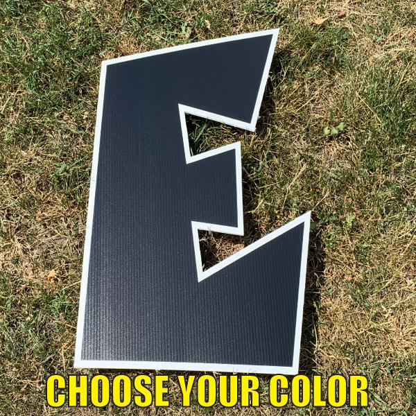 Choose letter b yard greetings cards corrugated plastic coroplast happy birthday lawn