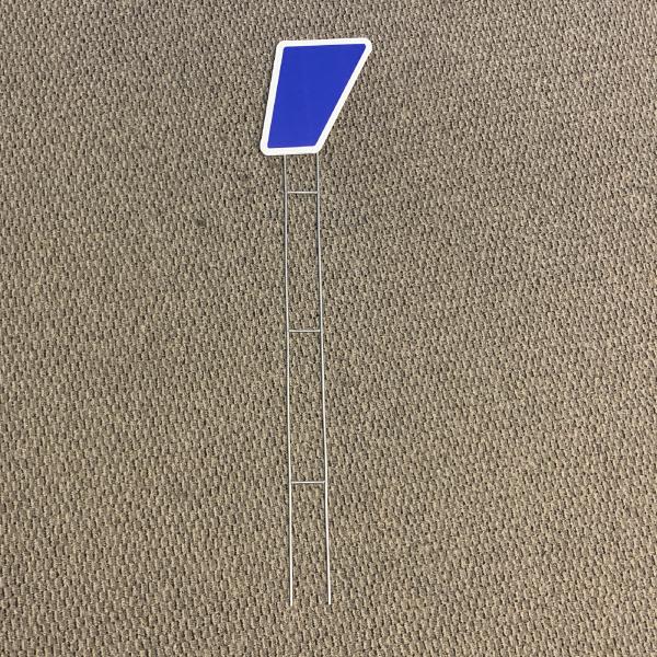 blue symbol apostrophe yard greetings cards corrugated plastic coroplast happy birthday lawn