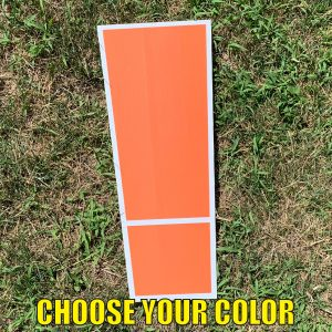 choose symbol exclamation ! yard greetings cards corrugated plastic coroplast happy birthday lawn