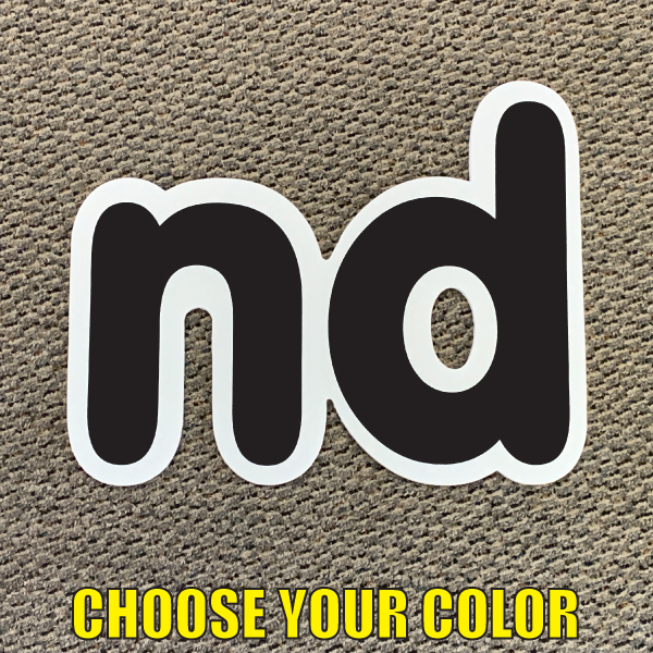 choose nd Ordinal indicator letters yard greetings lawn signs coroplast corrugated plastic