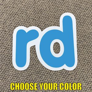 choose rd Ordinal indicator letters yard greetings lawn signs coroplast corrugated plastic